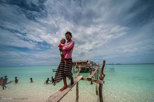 زندگی روی آب در مالزی