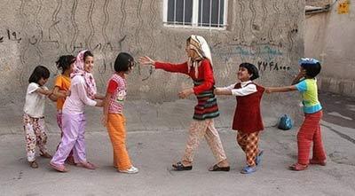 آموزش بازیهای گروهی به کودکان