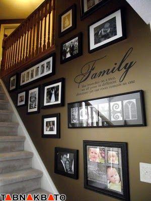 نحوه چیدمان قاب عکس ها و آثار هنری در خانه