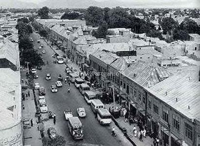 اولین خیابان تهران+عکس