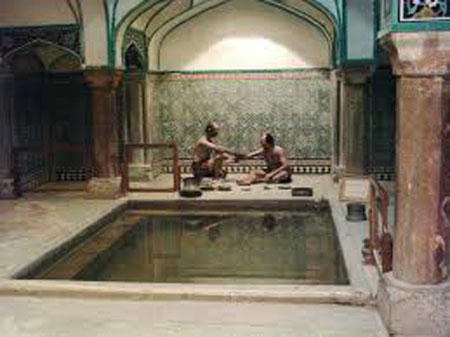 آداب و سنن حمامها در ایران