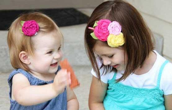 آموزش تل و گل سر های زیبا