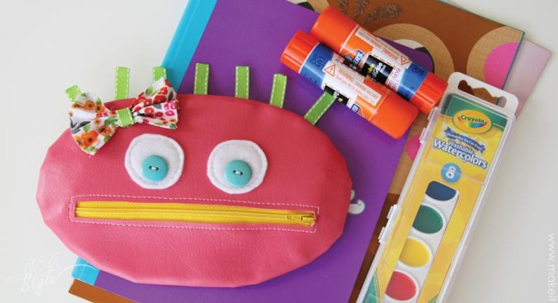 آموزش تصویری درست کردن جامدادی عروسکی