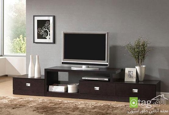 مدل میز تلویزیون ال سی دی در طرح های مدرن و کلاسیک
