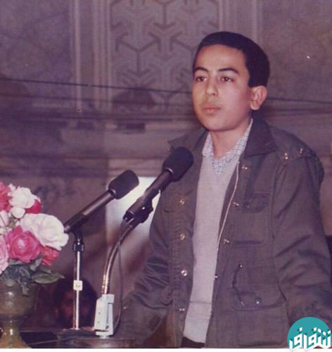دوران نوجوانی روحانی معروف +عکس