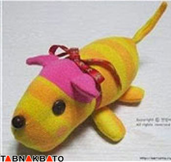 کاردستی: ساخت عروسک سگ