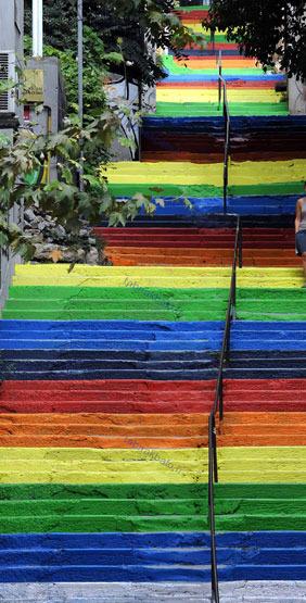 تصاویر: راه پله های زیبا و دیدنی