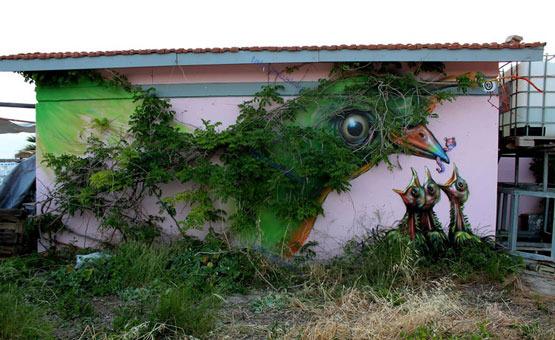 هنر خیابانی در هیاهوی سازه های شهری