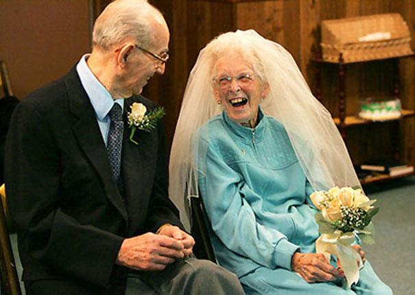 عروسی سالمندان+++++