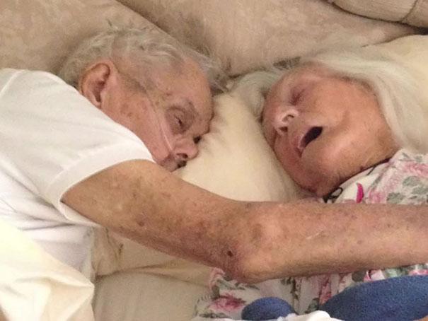 زوج هایی که پس از سال ها با هم جان باختند