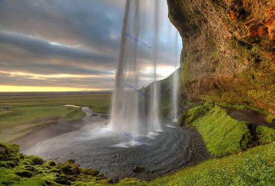 تصاویر: زیباترین آبشارهای طبیعی جهان