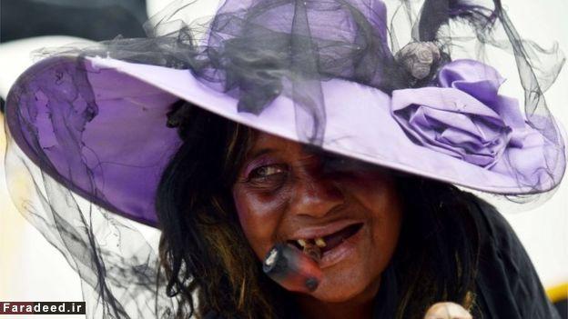 جشن عجیب «مردگان» در هائیتی+گزارش تصویری