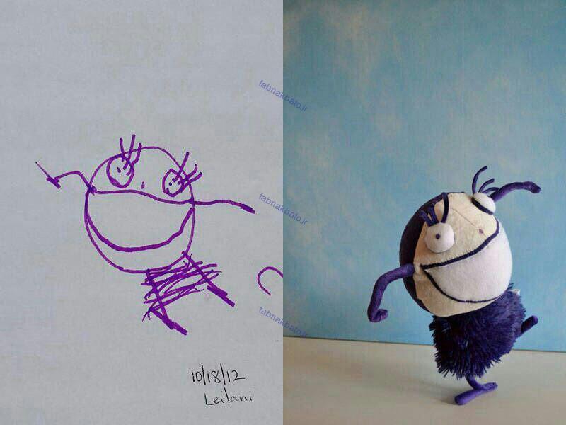 تبدیل نقاشی به عروسک
