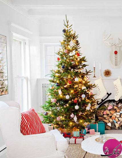 تصاویر زیبا از تزئین درخت کریسمس + تاریخچه درخت کریسمس