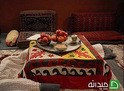 کرسی، گرمابخش دکوراسیون خانه ایرانی!
