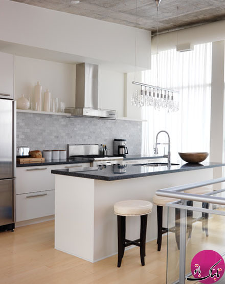 تصاویر: چیدمان آشپزخانه به سبک مدرن