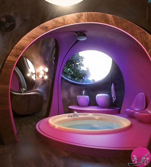 تصاویر: وانهای جالب و عجیب حمام