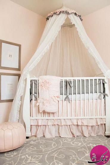 ایدههایی برای زیباتر کردن تخت نوزاد