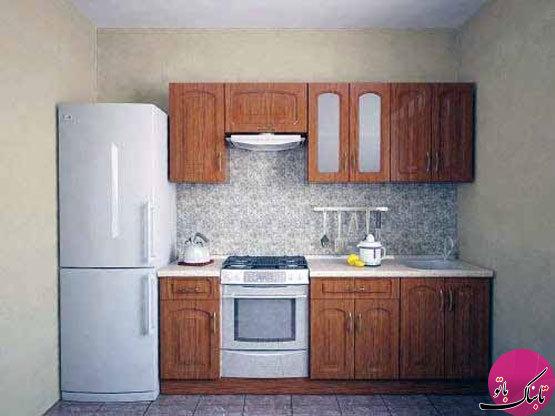 تصاویر: ایدههایی برای چیدمان آشپزخانههای کوچک