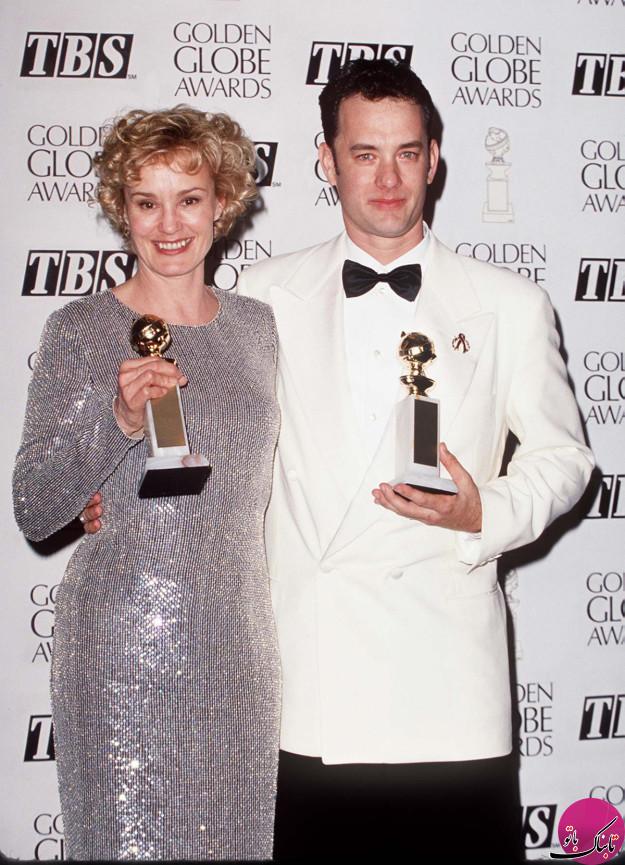 تصاویری جالب از برگزاری مراسم گلدن گلوب در دهه ی 90