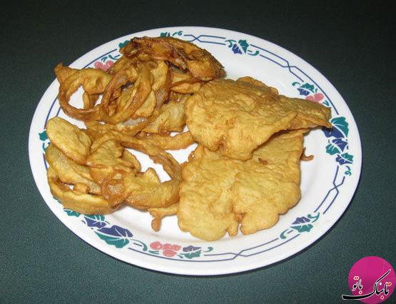 آشنایی با روش تهیهی فیله ماهی سوخاری