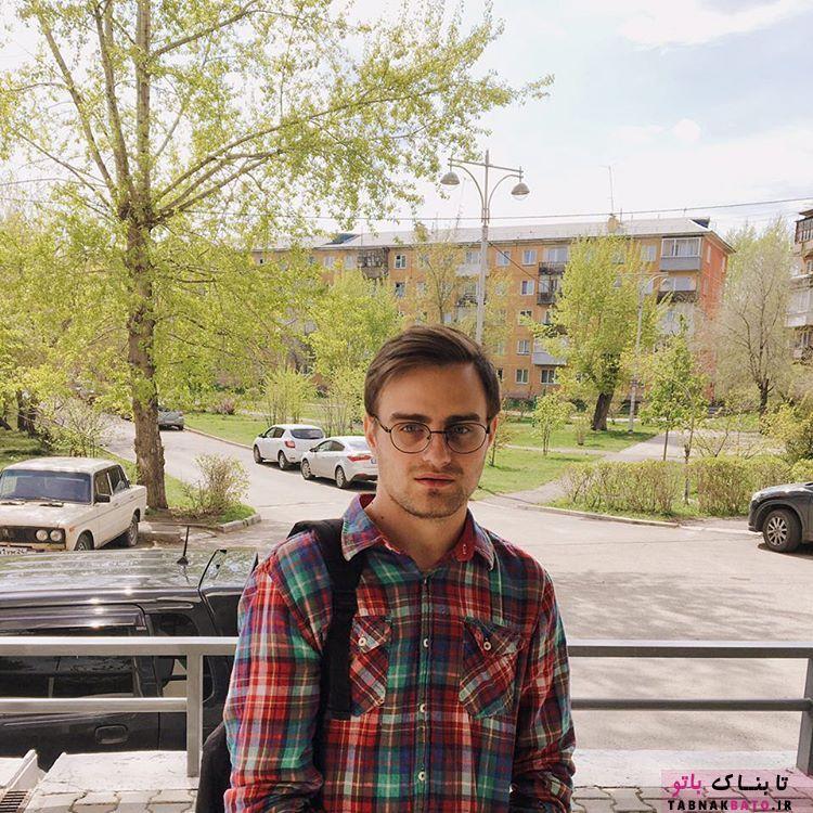 شباهت عجیب این پسر روس به شخصیت هری پاتر