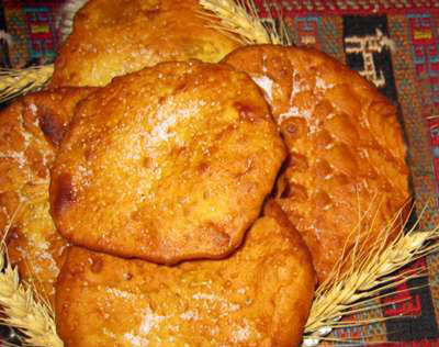 نان محلی اَردَک؛ عصرانهای مهمان زنجانیها