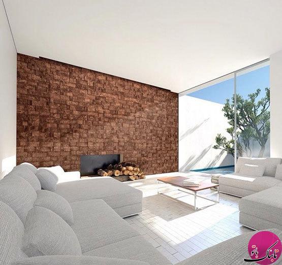ایدههایی از کاربرد چوب پنبه در دیوارها