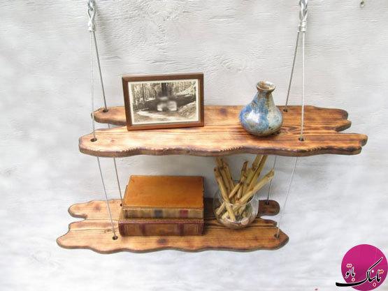ایدههایی برای ساخت شلفهای چوبی