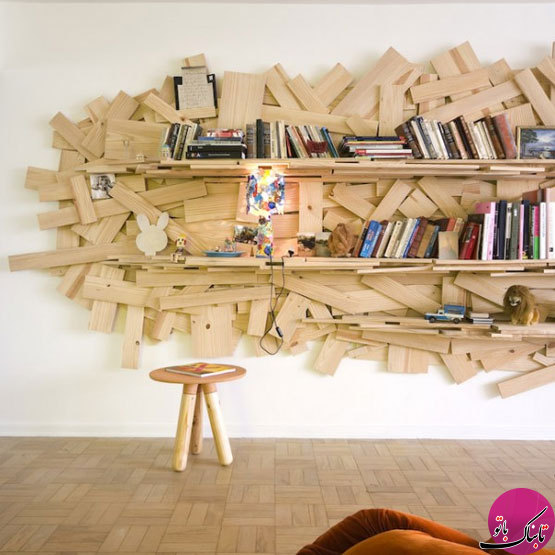 تصاویر: قفسههای کتاب منحصر به فرد