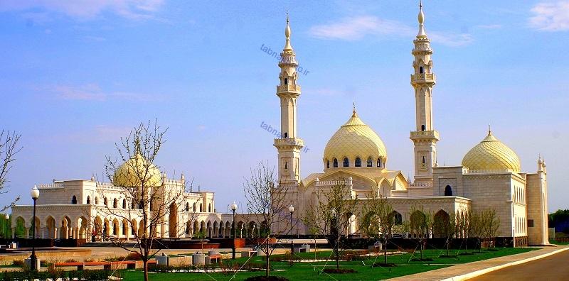 معماری مسجد مسجد زیبا عکس روسیه طراحی مسجد مدرن شاهکار معماری سفر به روسیه زیباترین طرح معماری زیباتربن مسجد