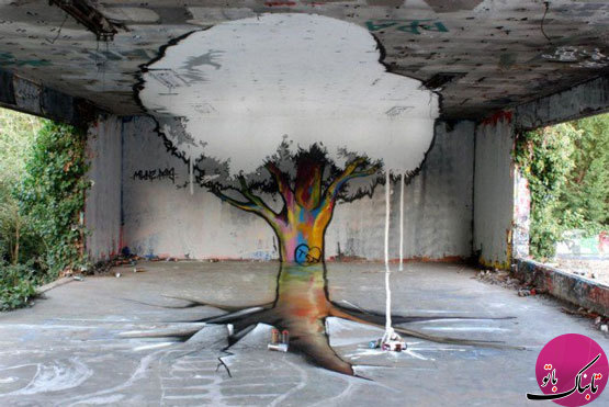 تصاویر: طراحهای خیرهکنندهی سهبعدی خیابانی