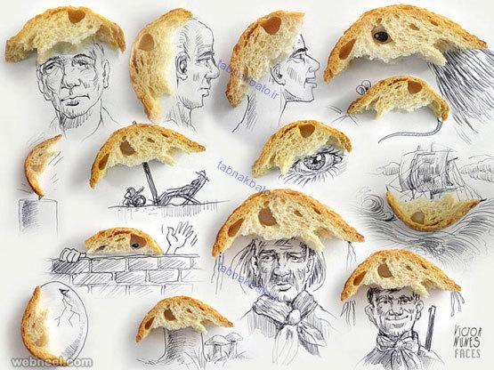 نقاشیهای زیبا و خلاقانهی یک هنرمند پرتغالی