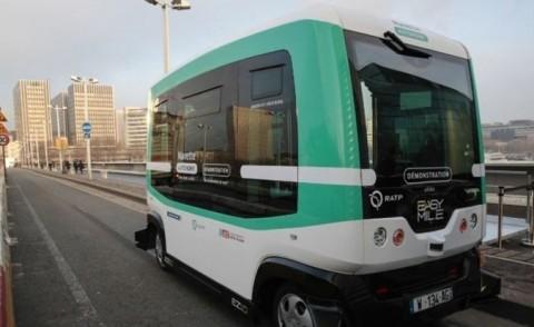 راهاندازی خط اتوبوس بدون راننده در پاریس