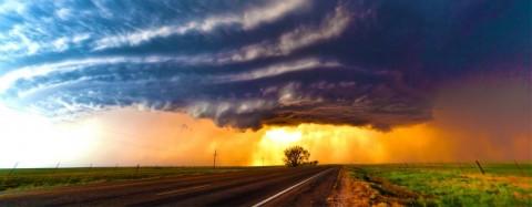 گردباد تورنادو؛ پدیده ای سهمگین اما زیبا