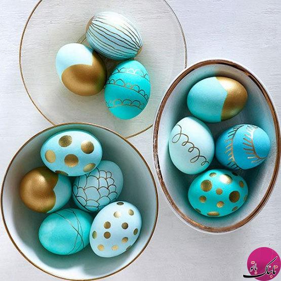 ایدههایی برای تزیین تخم مرغ هفت سین