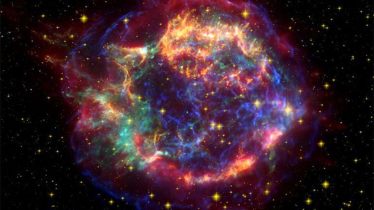 آیا تا به حال مرگ یک ستاره را دیده اید؟