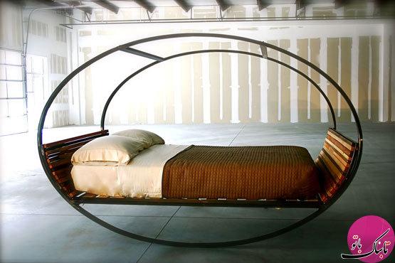تخت خوابهای جالب و عجیب
