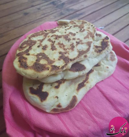 نان خوشمزه به سبک هندی