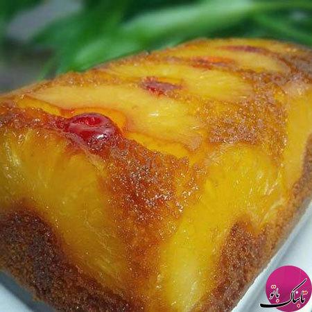 طرز تهیهی کیک آناناسی