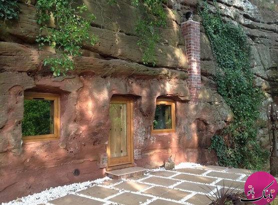 ساخت استراحتگاهی زیبا در دل غار هفتصد ساله