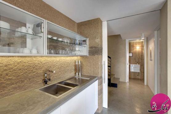 کابینتهای شیشهای، جلوهای زیبا برای آشپزخانهها