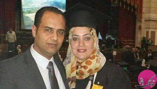 تراژدی یک زن وشوهردر هواپیما سقوط کرده مصری