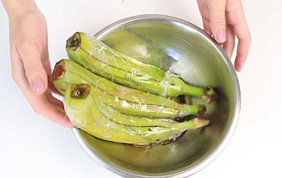 طرز تهیه ژله به شکل موز