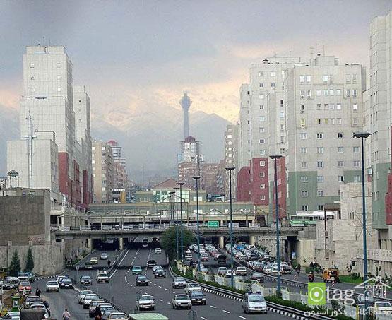 کج سلیقگی در معماری های جدید شهری