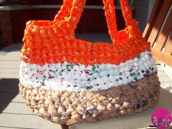 تصاویر: کیف های بازیافتی زیبا