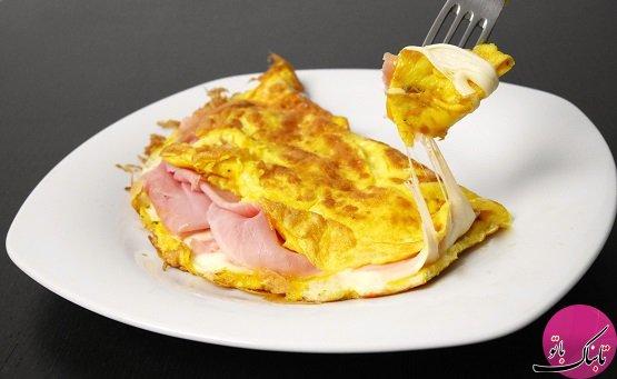 با تخم مرغ سه غذای خوشمزه درست کنید