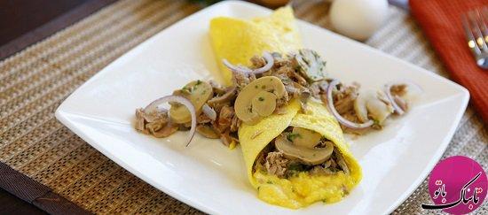 تهیه سه غذای فوری با تخم مرغ