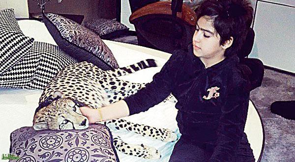 سرگرمی عجیب دختربچه سعودی
