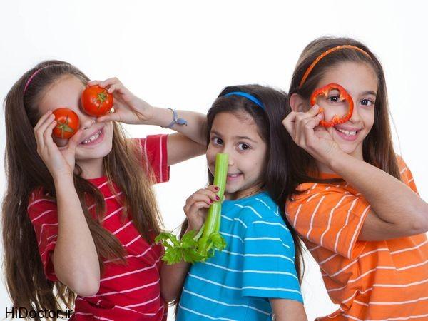 چرا بعضی از کودکان کمتر بیمار می شوند؟